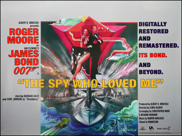 The Spy Who Loved Me UK Quad poster