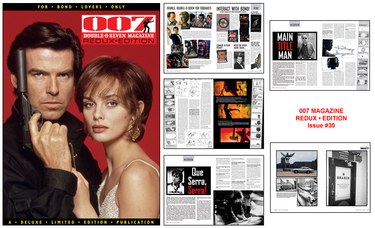 007 MAGAZINE REDUX • EDITION – Issue #30