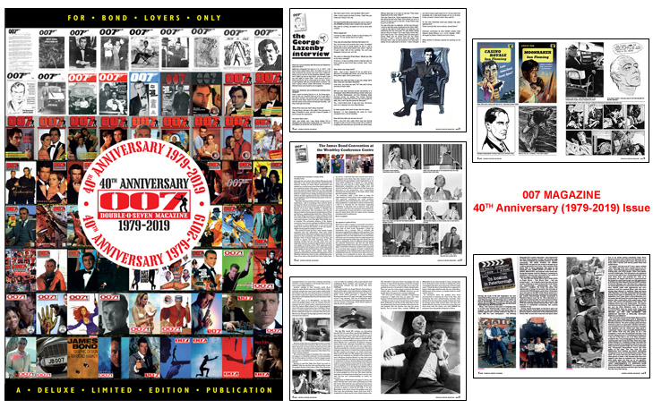 007 MAGAZINE 40TH Anniversary (1979-2019) Issue