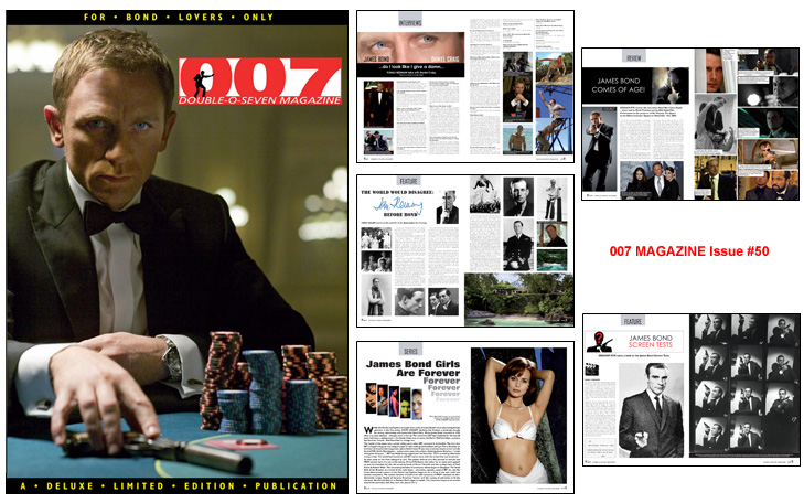 007 MAGAZINE Issue #50