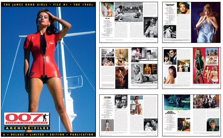 007 MAGAZINE ARCHIVE FILES: The James Bond Girls – File #1 The 1960s (2017 REPRINT)