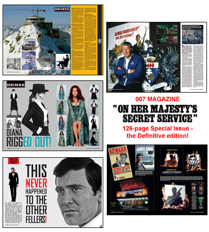 007 MAGAZINE On Her Majesty's Secret Service 126-page Special Issue – the Definitive edition!