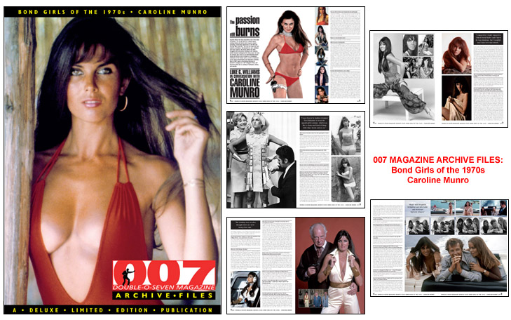 007 MAGAZINE ARCHIVE FILES: Bond Girls of the 1970s - Caroline Munro