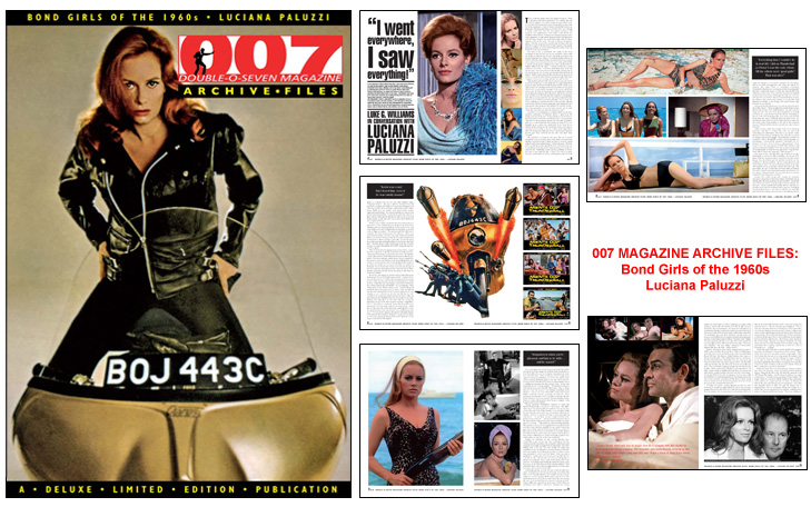 007 MAGAZINE ARCHIVE FILES: Bond Girls of the 1960s - Luciana Paluzzi