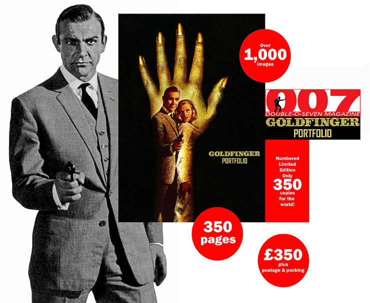 Goldfinger Showcard
