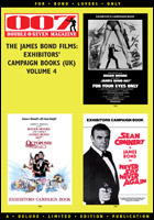 007 MAGAZINE The James Bond Films: Exhibitors' Campaign Books (UK) Volume 4