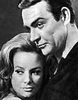 Luciana Paluzzi & Sean Connery in Thunderall (1965)