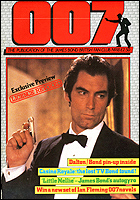 007 MAGAZINE Issue #18 - Timothy Dalton James Bond 007 Licence Revoked