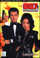 007 MAGAZINE Issue #33 Pierce Brosnan as James Bond 007 Tomorrow Never Dies