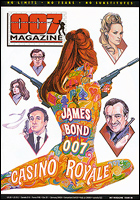 007 MAGAZINE Issue #40 Special Reversible Issue James Bond 007