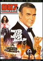 007 MAGAZINE Issue #40 Never Say Never Again Sean Connery James Bond 007
