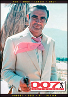 007 MAGAZINE ISSUE 52 Sean Connery as James Bond 007 in Diamonds Are Forever