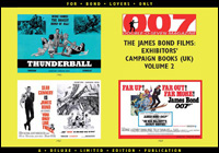 007 MAGAZINE – The James Bond Films: Exhibitors' Campaign Books (UK) Volume 2