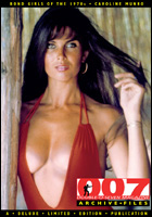 007 MAGAZINE ARCHIVE FILES: James Bond Girls of the 1970's Caroline Munro