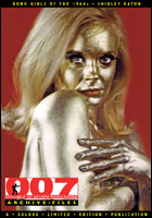 007 MAGAZINE ARCHIVE FILES: James Bond Girls of the 1960's Shirley Eaton