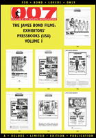 007 MAGAZINE – The James Bond Films: Exhibitors' Pressbooks (USA) Volume 1