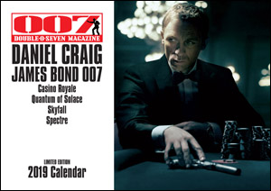 007 MAGAZINE  DANIEL CRAIG JAMES BOND 007 Limited Edition 2019 Calendar