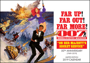 007 MAGAZINE On Her Majesty's Secret Service Limited Edition 2019 Calendar