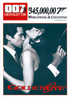 007 NEWSLETTER #15 Pierce Brosnan James Bond 007 GoldenEye