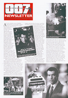 007 NEWSLETTER #17 Pierce Brosnan James Bond 007 Tomorrow Never Dies