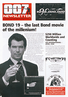 007 NEWSLETTER #18 Pierce Brosnan James Bond 007 Tomorrow Never Dies