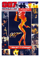 007 NEWSLETTER #20 Pierce Brosnan James Bond 007 The World Is Not Enough