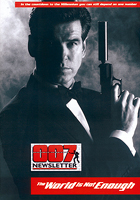 007 NEWSLETTER #21 Pierce Brosnan James Bond 007 The World Is Not Enough