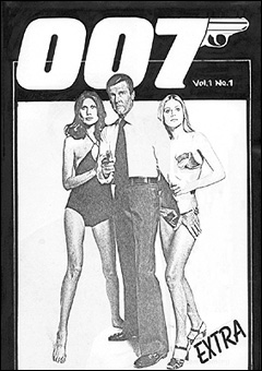 Proposed cover for 007 EXTRA #1