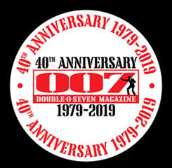 007 MAGAZINE 40th Anniversary 1979-2019