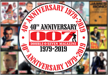 007 MAGAZINE 40th Anniversary (1979-2019)