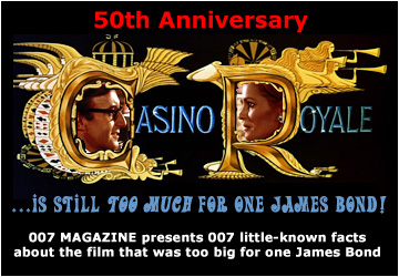 Casino Royale at 50 - 007 little-known facts about the film that was too big for one James Bond!