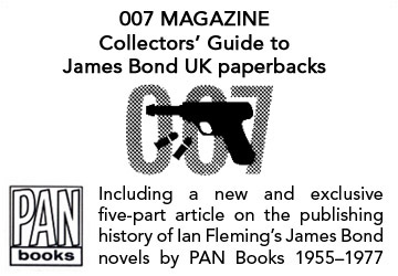 007 MAGAZINE collectors' guide to James Bond UK paperbacks