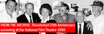FROM THE ARCHIVE: Thunderball 25th Anniversary screening at the NFT