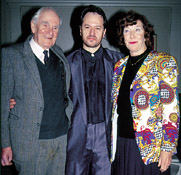 DESMOND LLEWELYN, GRAHAM RYE and LOIS MAXWELL 1993