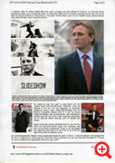 INKJET sample page from 007 MAGAZINE OnLine