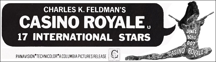 Casino Royale Newspaper advertisement