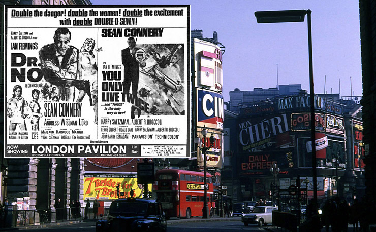 Dr. No/You Only Live Twice London Pavilion April 1969