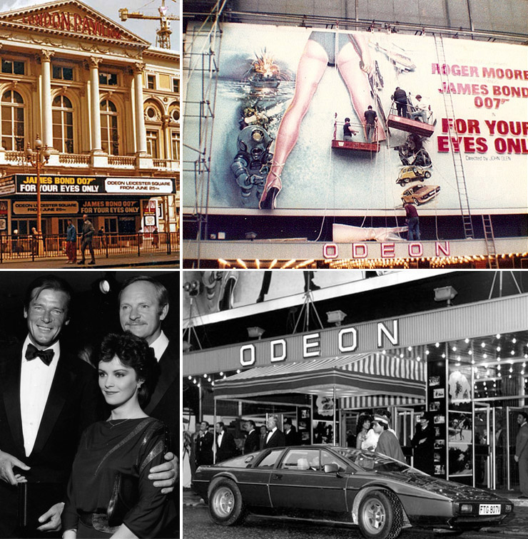 For Your Eyes Only Odeon Leicester Square 1981