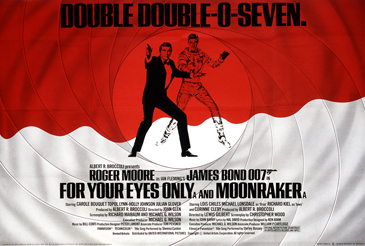 For Your Eyes Only/Moonraker double-bill