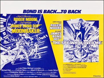 Moonraker/The Spy Who Loved Me double-bill