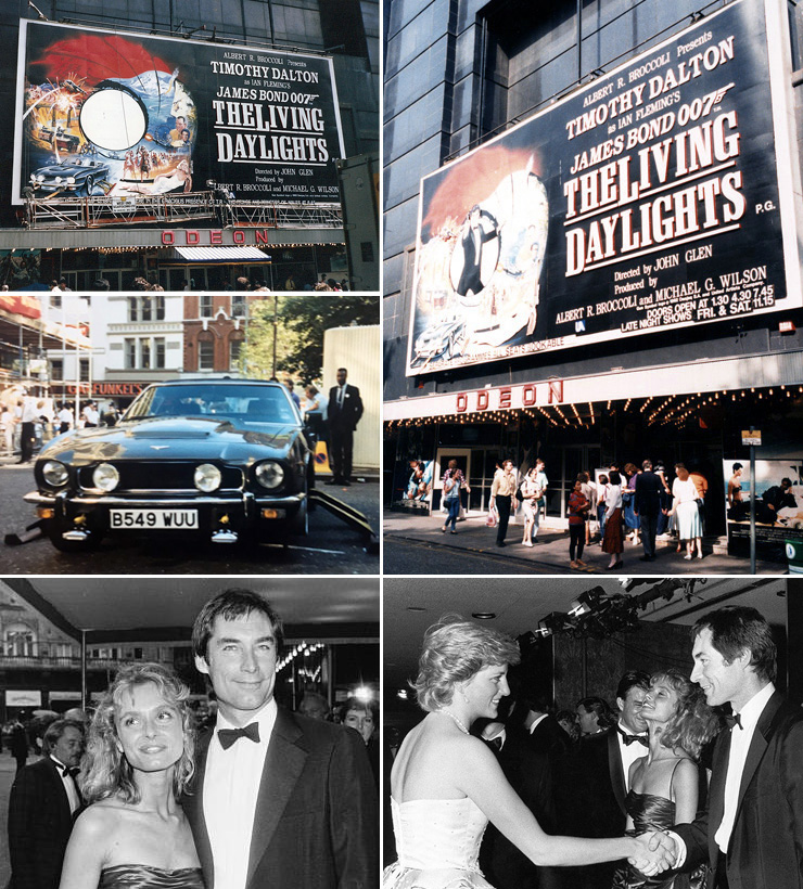 The Living Daylights Odeon Leicester Square 1987