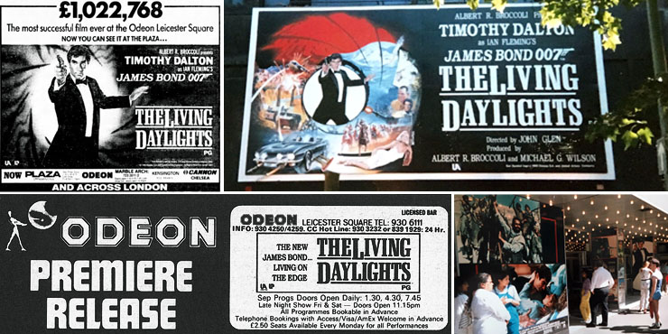 The Living Daylights Odeon Leicester Square