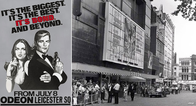 The Spy Who Loved Me Odeon Leicester Square 1977