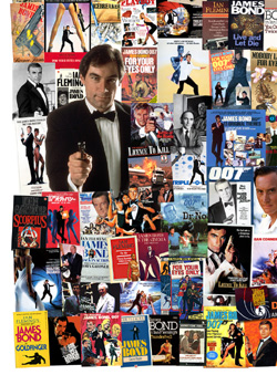 007 MAGAZINE James Bond Montage - The 1980s Timothy Dalton