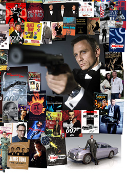007 MAGAZINE James Bond Montage - The 2000s Daniel Craig