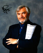 CLICK FOR LARGER IMAGE - Monty Norman - James Bond theme composer - signed still