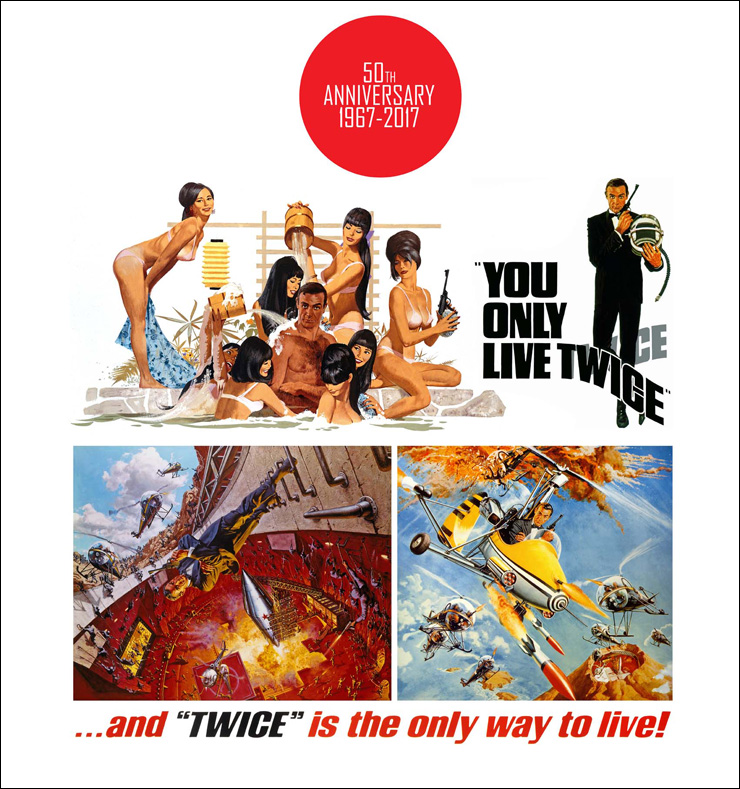 You Only Live Twice 50th Anniversary Exclusive Limited Edition Poster