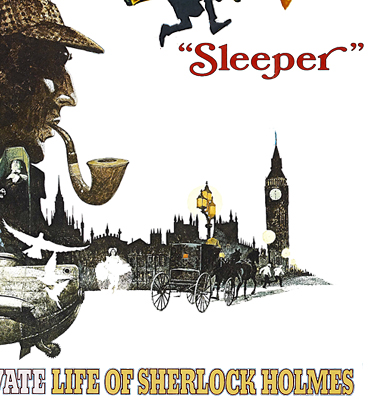 The Private Life Of Sherlock Holmes (1970) art by Robert McGinnis