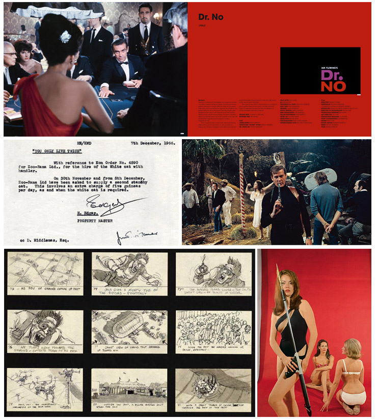The James Bond Archives 007 - Dr No, You Only Live Twice, Thunderball, Moonraker images
