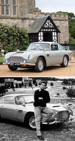 Bonhams To Offer The GoldenEye Aston Martin DB5 at Festival of Speed sale